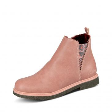 s.Oliver Chelsea-Boots - rosa